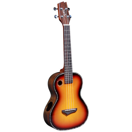 Concert Ukulele UC-2CS with solid Spruce top, Rosewood back and sides.