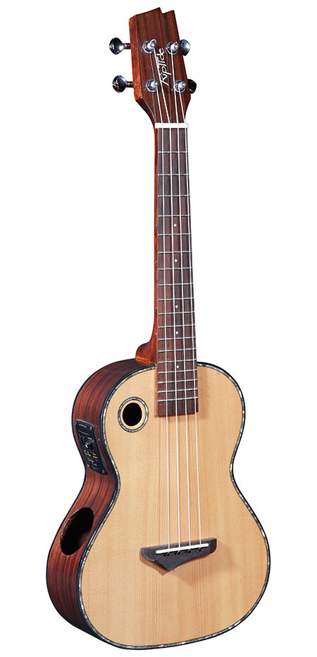 Tenor Ukulele EUT-2N with solid Spruce top and Mahogany back and sides.